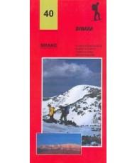Planinska karta Dinara - karta 40