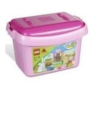 Lego Duplo kutija s ružičastim kockama