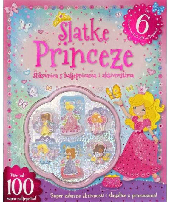 Slatke princeze - 3D naljepnice