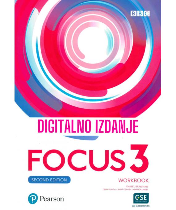 Focus 3 - Second Edition - Digitalna radna bilježnica