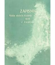 Klub studenata historije Sveučilišta SHS u Zagrebu – Zapisnici