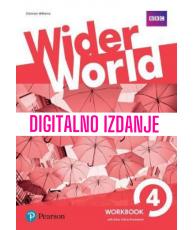 Wider World 4 - Digitalna radna bilježnica