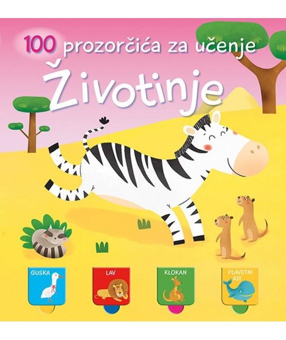 100 prozorčića za učenje - Životinje