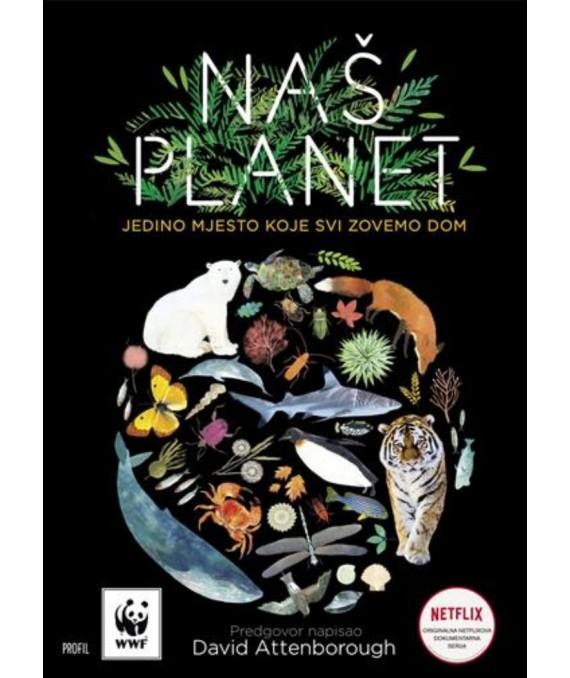 Knjiga 'Naš planet' u hrvatskim knjižarama