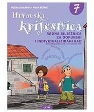 HRVATSKA KRIJESNICA : radna bilježnica za dopunski i individualizirani rad iz hrvatskog jezika za 7. razred