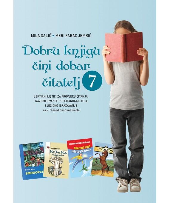 Dobru knjigu čini dobar čitatelj - Lektirni listići 7